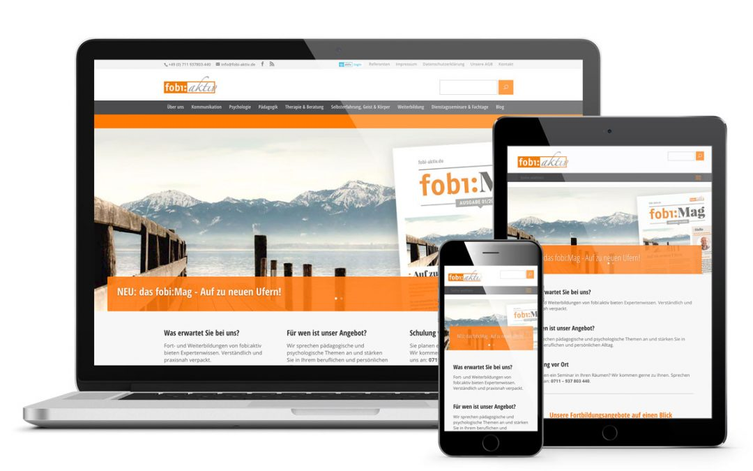 Fobi-aktiv – Website und Onlinemarketing